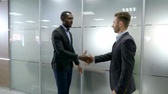 Thumbnail for Two Business Partner Shake Hands When Meeting
