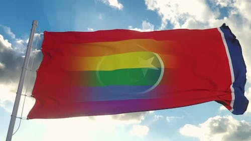 Flag of Tennessee and LGBT