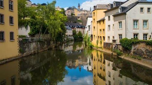 Beliebte Aussicht auf die Stadt Luxemburg