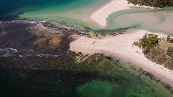 Thumbnail for Jervis Bay in Australia Beautiful Blue Bay with White Sand and Picturesque Vegetation