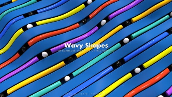 Thumbnail for Wavy Shapes 46