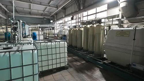 Workshop for Water Purification at an Industrial Enterprise