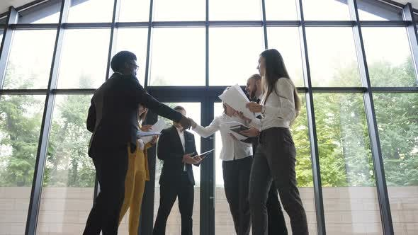 Thumbnail for Confident and Attractive Young Multi Ethnic Business Team Meet
