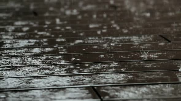 Thumbnail for Rain on floor