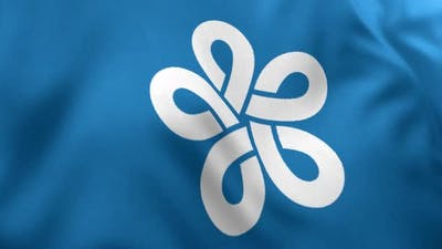 Fukuoka Prefecture Flag