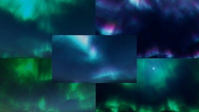 Aurora Backgrounds Loop Pack -5