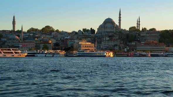 Thumbnail for Evening in Istanbul and Pleasure Ships