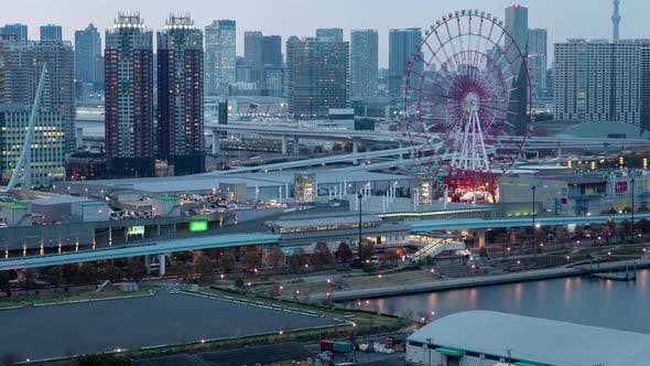 Thumbnail for Tokyo Structure Cityscape Architecture Timelapse