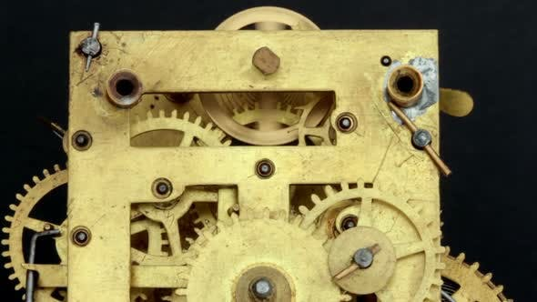 Cover Image for Mechanical Antique Vintage Clock 40