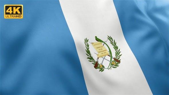 Thumbnail for Flag of Guatemala - 4K