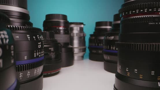 Thumbnail for Lenses Arranged on a Table