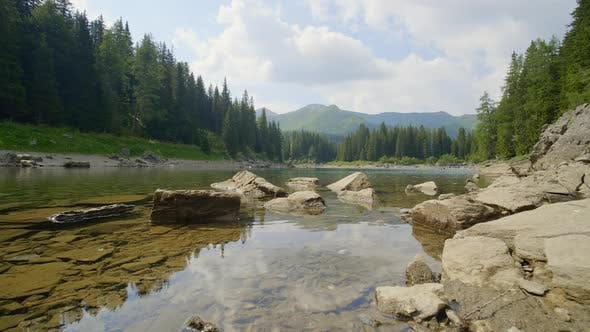 Thumbnail for Tranquil View of a River and Forest, Austria