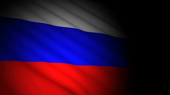 Thumbnail for Russia Flag Blowing in Wind