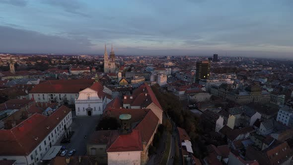 Thumbnail for Aerial view of Zagreb