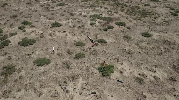 Thumbnail for Missile Crash Site Aerial View
