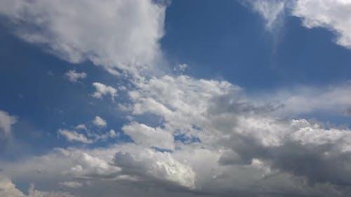 Spring Cumulus Rain Clouds 4
