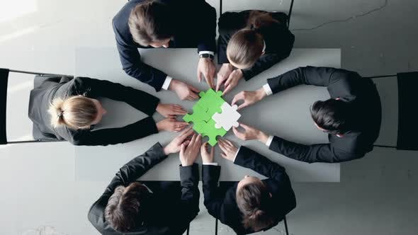 Thumbnail for Business People and Puzzle