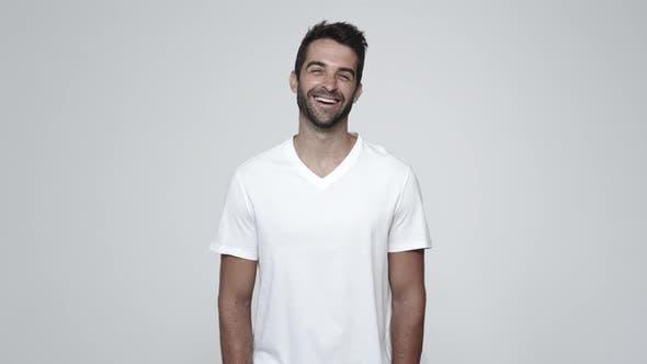 Thumbnail for Smiling Guy in White