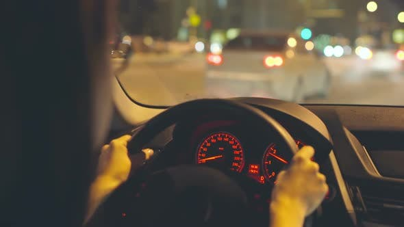 Thumbnail for Woman Driving Car