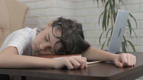 Sleep at the computer