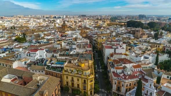Thumbnail for Seville, Cityscape Spain