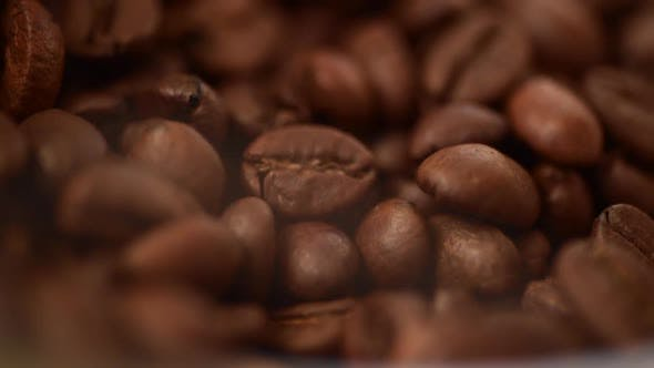Thumbnail for Coffee beans roasting