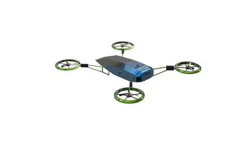 Remote reconnaissance drone