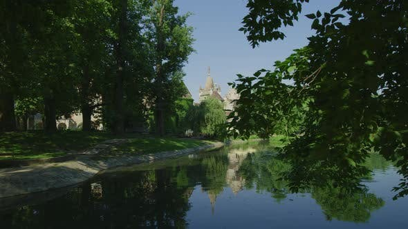Cover Image for Pond near Vajdahunyad Castle
