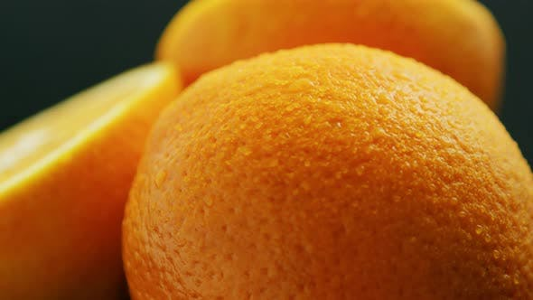 Thumbnail for Whole and Cut Orange