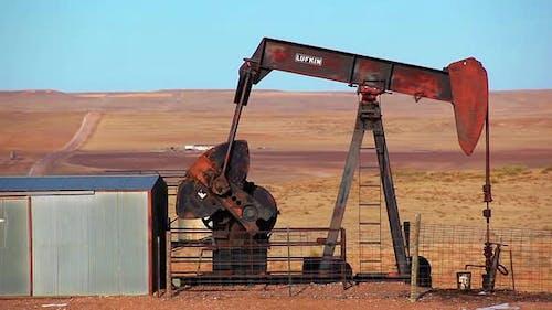 Oil Rig in Nebraska.