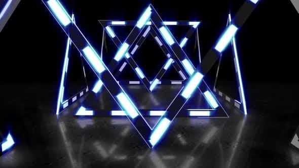 Dreieck Licht 01 4k