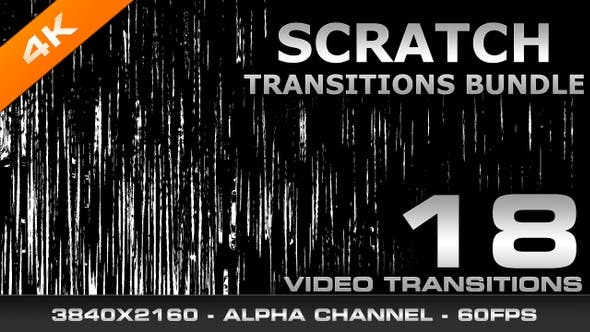 Thumbnail for Scratch Transitions Bundle 4K