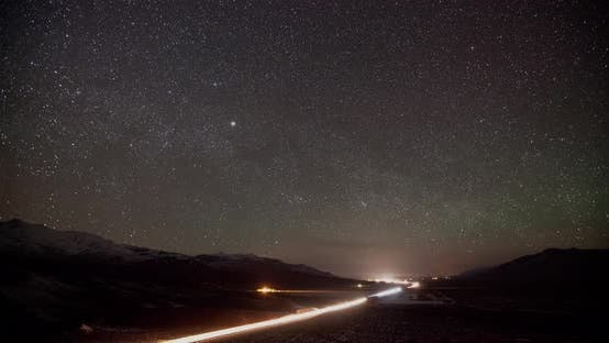 Thumbnail for Stars and Milky Way Time Lapse