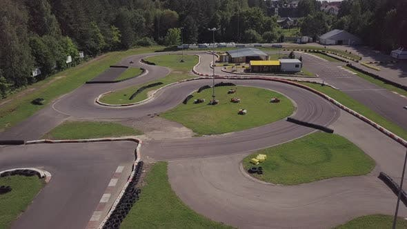 Thumbnail for Karting racing track