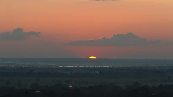 Thumbnail for Landscape at sunset