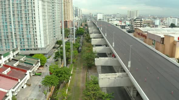 Thumbnail for Interchange with Highway and Railway in Manila