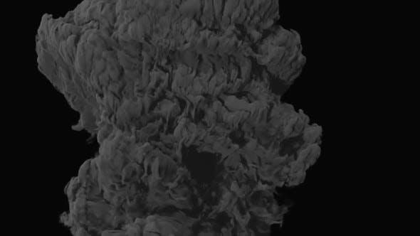 Thumbnail for Slowmotion Smoke Plume - 01