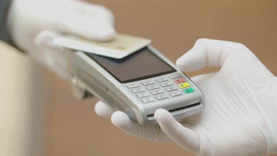 Thumbnail for Electronic Payment With Card