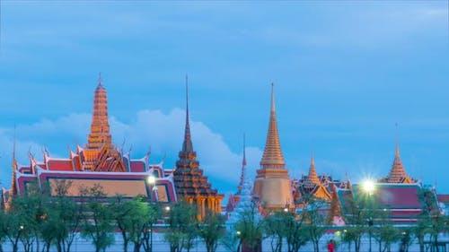 Thai Temple Bangkok Thailand