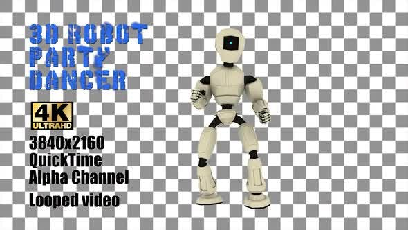 Thumbnail for 3d Party Dancer Robot Humanoid