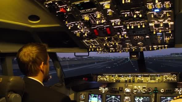 Thumbnail for Civil Aircraft Cockpit