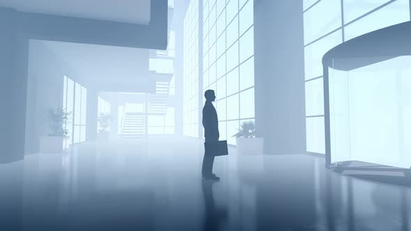 Thumbnail for Businessman Waiting at the Plaza