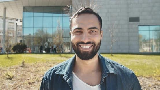 Thumbnail for Portrait of Handsome Bearded Man
