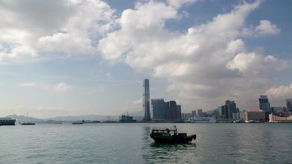 Thumbnail for Hyperlapse Day View From the Quay Hong Kong