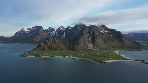 Norwegian rocky coastline