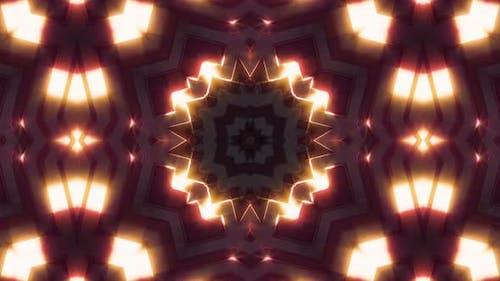 Neonlicht Glow Kaleidoskop V3