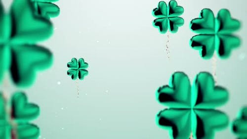 St Patrick's Day Background Loop