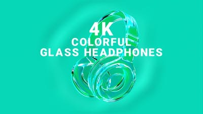 Colorful Glass Headphones