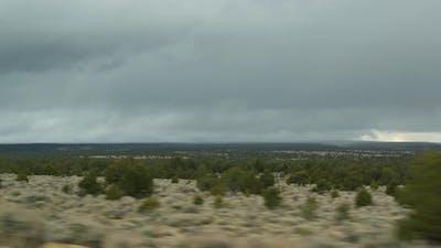 Road Trip From Grand Canyon Arizona USA