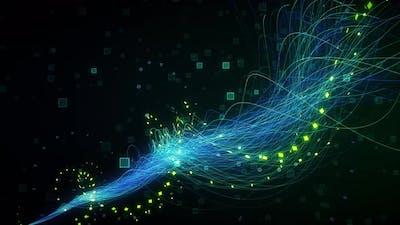 Digital Line Background